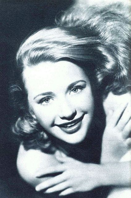 Actress Priscilla Lane looking wonderfully chipper and youthful in this photo from 1938