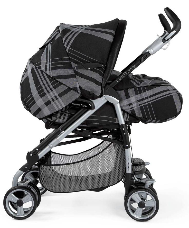 PramPliko Pramette Couture Black Newborn stroller