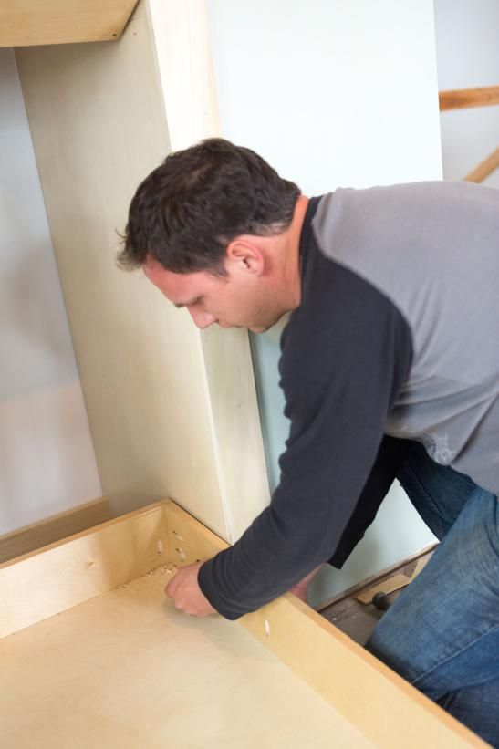 How to Build a Side-Fold Murphy Bunk Bed:  From DIYNetwork.com from DIYnetwork.com
