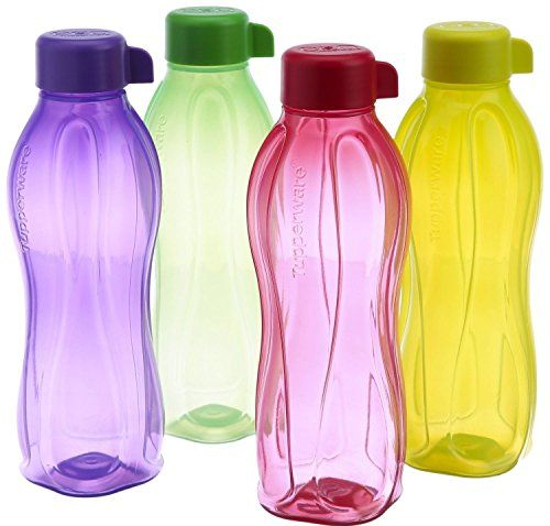 Tupperware Eco Sports 1 Litre Aqua Safe Water Bottle  Set of 4 32 Oz >>> You can get additional details at the image link.Note:It is affiliate link to Amazon.
