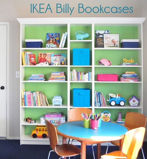 Customizing Ikea Billy Bookcases by @Centsational Blog Blog Blog Girl