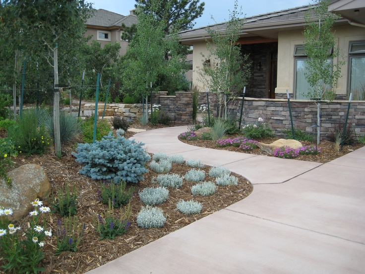 35 best images about Mountain Home Landscape on Pinterest ... on Mountain Backyard Ideas id=60737
