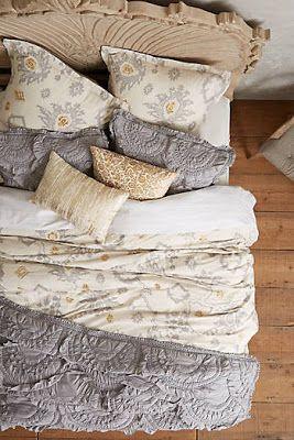 Bedroom Furniture & Bedding #anthrofave