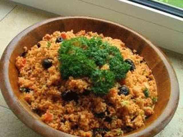 タブレ~南フランス風 やめられないとまらないトマト味のクスクスサラダの画像