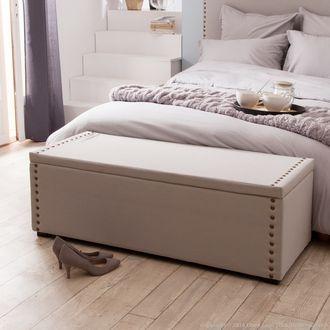 les 25 meilleures id es de la cat gorie coffre bout de lit sur pinterest lit maison du monde. Black Bedroom Furniture Sets. Home Design Ideas