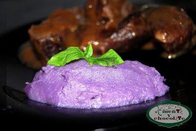 A menta y chocolate: Carrilleras ibéricas con salsa de frutos rojos y p...