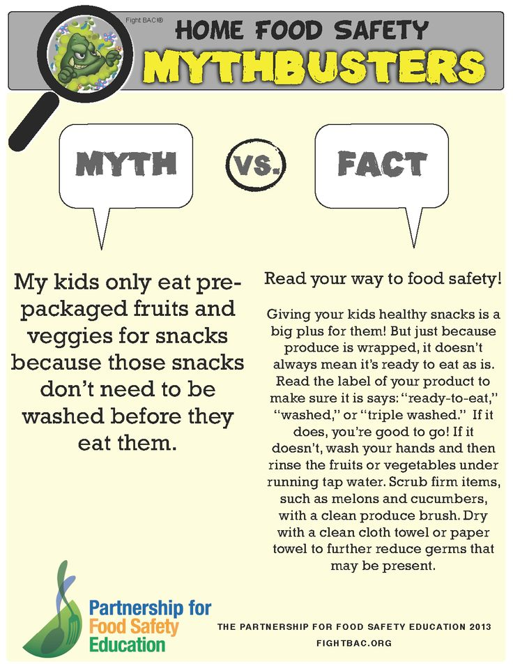 10 best Food Safety Mythbusters images on Pinterest Etiquette - food safety quiz