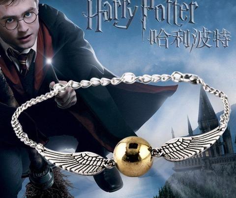 Pulseira Pomo de Ouro (Harry Potter) ***Limitado a 2 itens por pedido!***