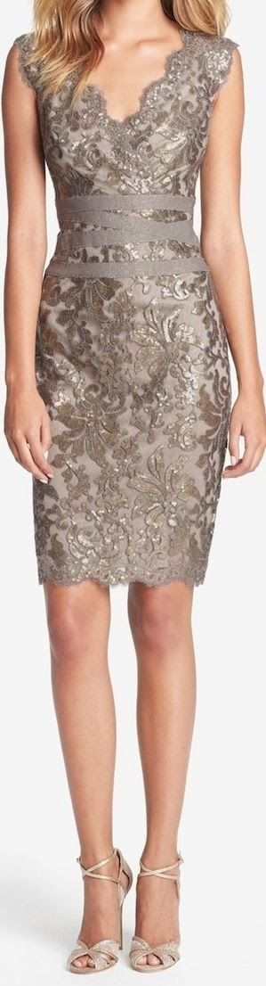 I'd wear this for a holiday party =)