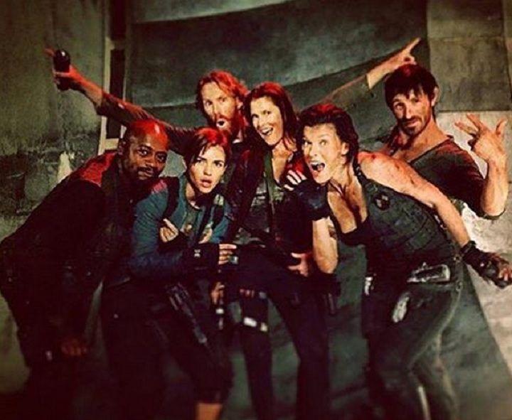 Milla Jovovich y sus compañeros en 'Resident Evil 6' publican fotos del rodaje en Sudáfrica