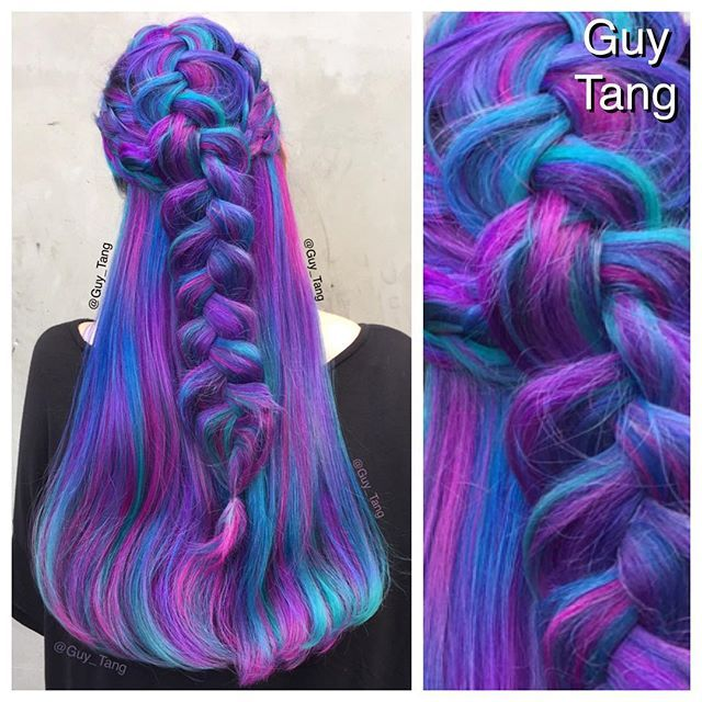 253 best hair images on pinterest colourful hair for Guy tang salon