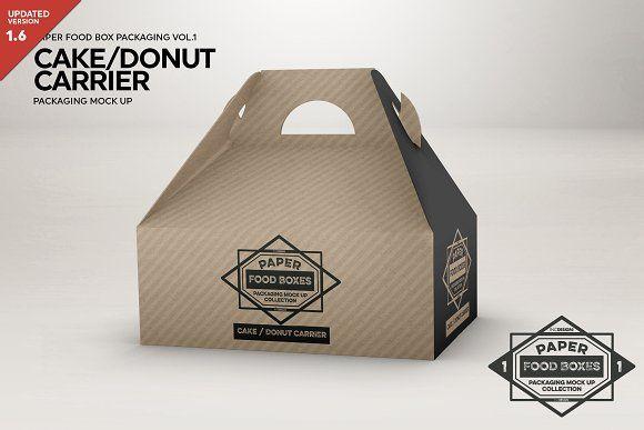 Download Cake Carrier Packaging Mockup Packaging Mockup Free Packaging Mockup Business Card Logo