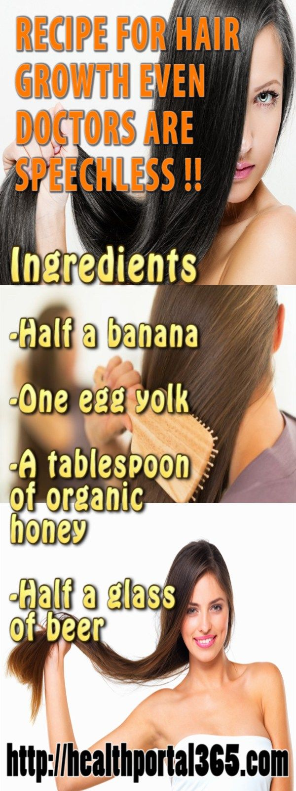 Most of the people wants to have a long hair but everyone likes to have nice and healthy hair which looks amazing. There are a lot of treatments which are expensive and in most of the cases are ineffective. This article will show you a homemade recipe which will improve your hair. Recipe: People usually …
