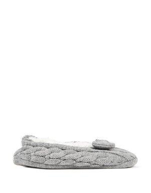 Chunky Knit Slipper Socks   Woolworths.co.za