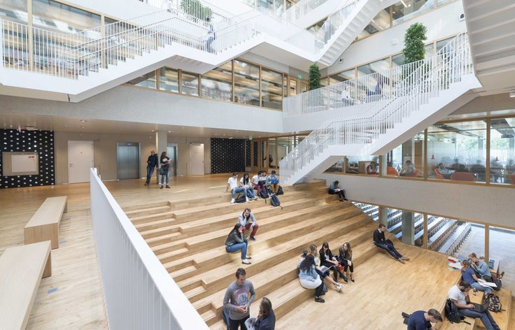 Gallery of Erasmus University Rotterdam / Paul de Ruiter Architects - 6