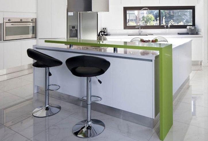 Кухня-гостиная с барной стойкой (59 фото), дизайн своими ...