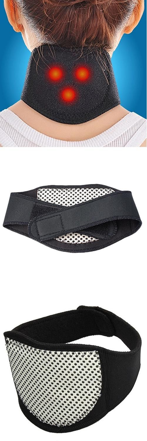 [Visit to Buy] Tourmaline Magnetic Therapy Neck Massager Cervical Vertebra Protection Spontaneous Heating Belt #Advertisement