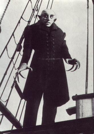 Max Schreck as Count (Graf) Orlok in Nosferatu (1922) Nosferatu, eine Symphonie des Grauens
