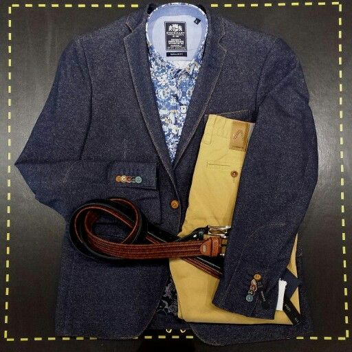 Foto 8 #outfits4men : vest (Stones), broek (Alberto), hemd/riemen (State of Art). #menswear