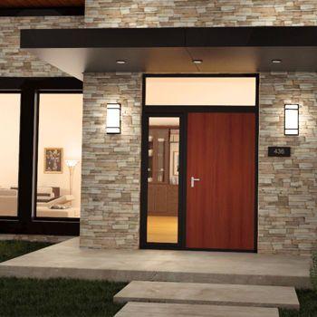 Exterior/Interior Integrated LED Square Light Fixture