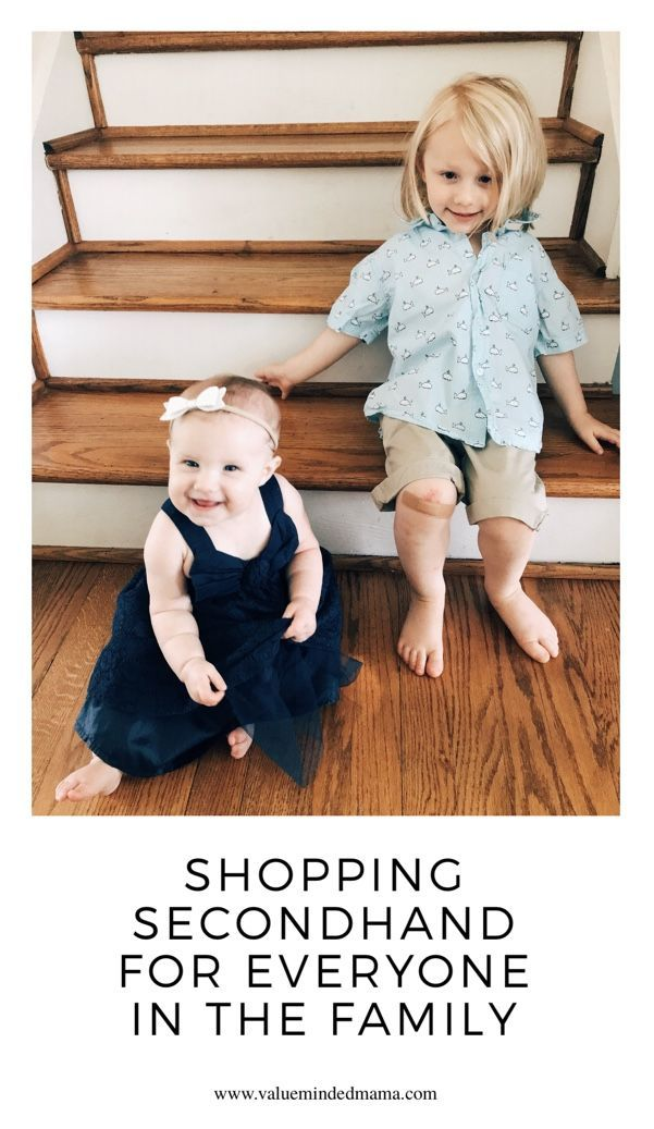 c61ecda25 Jul 3 Shopping Secondhand for Everyone in the Family | Thrift Store Shopping  | Shopping, Mom blogs, Managing your money
