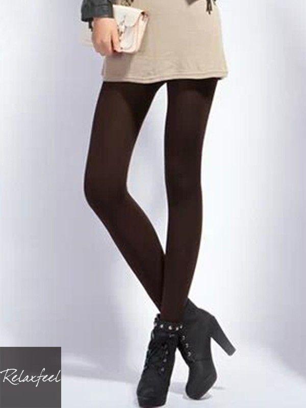 Relaxfeel Women's Winter Super Warm Stretchy Leggings With Velvet Skinny Pants - New In