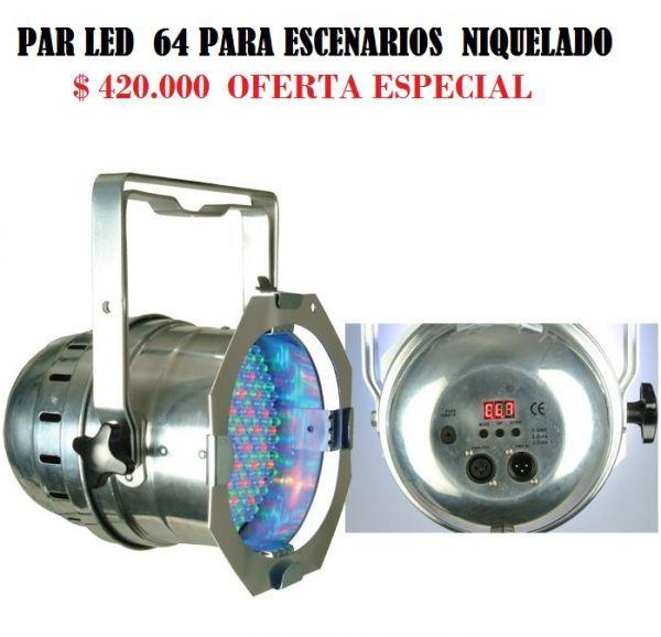 Par LED 64P led pro