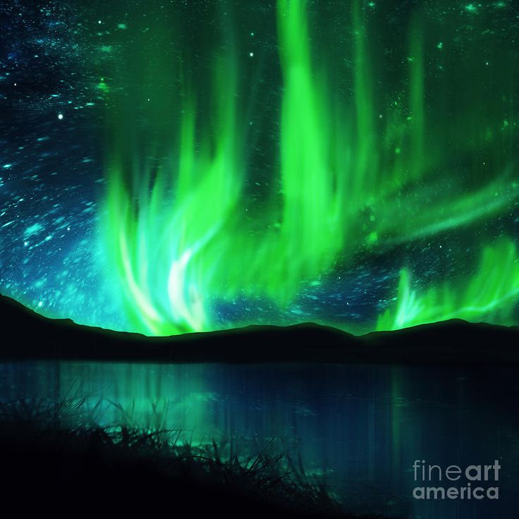 The Northern Lights as seen from Alaska....two bucket list items in one!