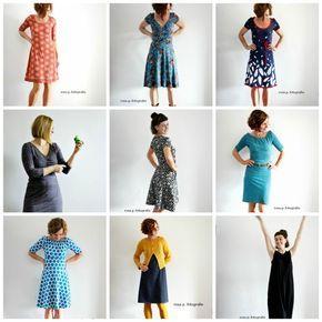 review :: dresses sixteen | noch einmal im überblick für sie :: meine lieblingskleider zwo sechszehn #rosap. #jerseynähen #kleiderbaukasten #rosapkleid #kleidzoe #rockbella #lillestoff #lillestoffschnittmuster
