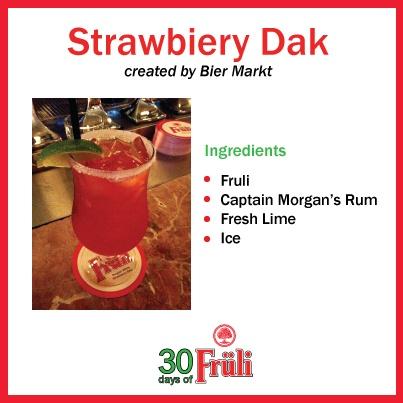 Beer Cocktail: Strawbiery Dak