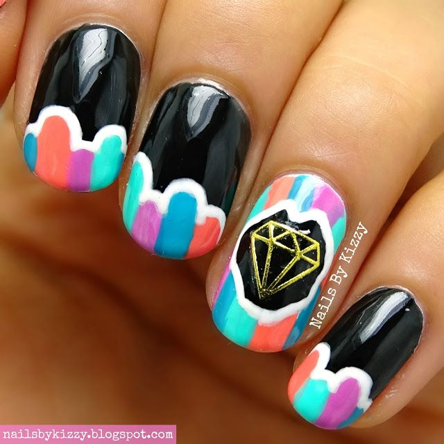 133 best My Nail Art - Nails By Kizzy images on Pinterest | Art ...
