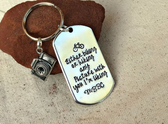 cute gift for boyfriend biking keychain hiking gift outdoors guy gift men gift ideas now trending 2015 best christmas gifts 2015 what men what silver jewelry jewellery shops cheap custom gifts cheap jewelry gifts jewelry wholesale shops gifts unique