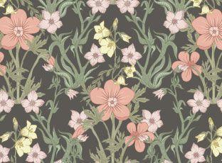 Pattern Meadow flowers