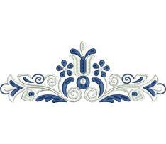 Výšivka Čataj 4, 24x9 cm