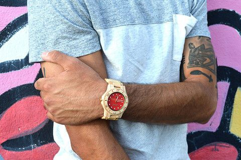Wooden Hipster Watches - The Springbreak Wood Watches Combine Style and Eco-Consciousness (GALLERY)