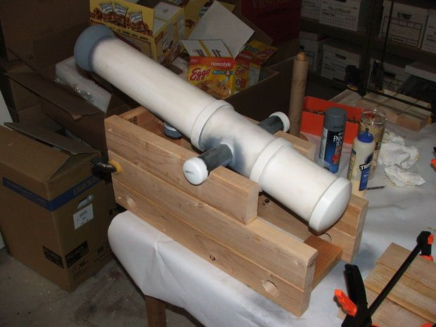 how to build a cannon barrel