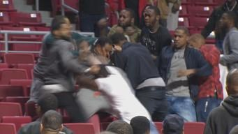 Caught on Cam: Brawl in Stands During Celeb Basketball Game