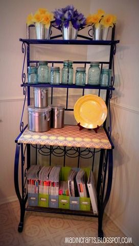 25 best ideas about bakers rack on pinterest bakers