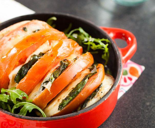 Recept: Caprese uit de oven | Gezond Eten Magazine