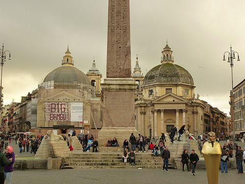 Rome, Italy Piazza del Popolo