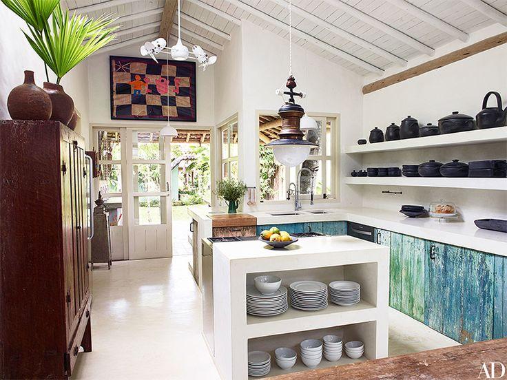 Home Tour - Anderson Cooper's Trancoso Brazil Vacation Home - Bright.Bazaar