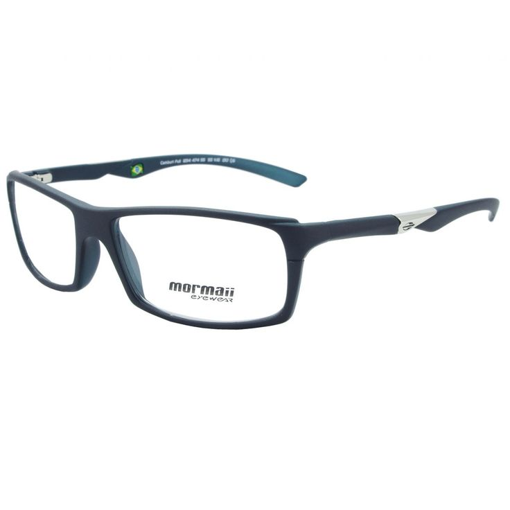 Óculos De Grau Masculino Mormaii Camburi Full M1234 474 Tam.55