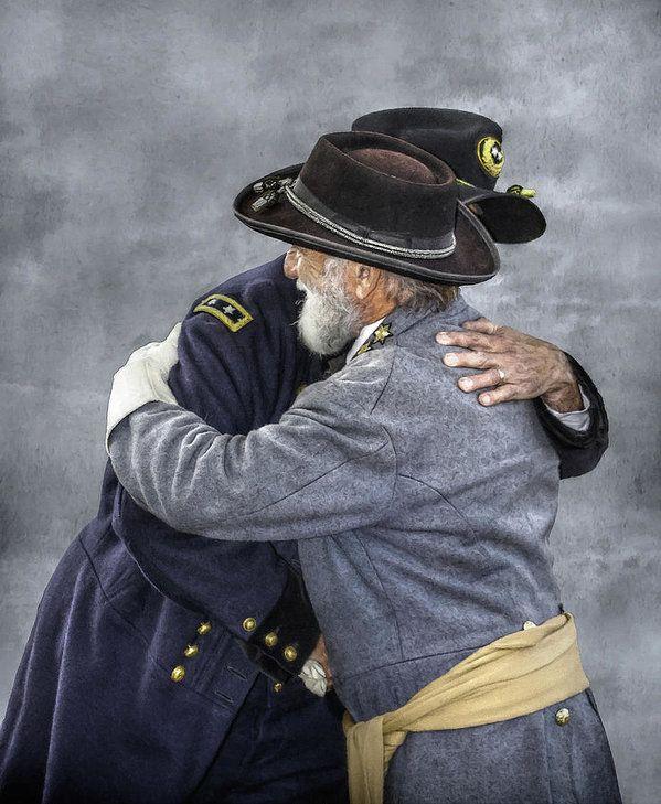 enemies-no-longer-civil-war-grant-and-lee-randy-steele.jpg (599×729)