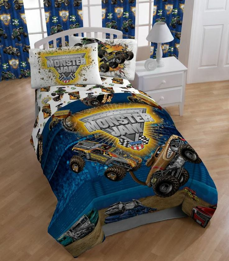 Monster Jam Bedding