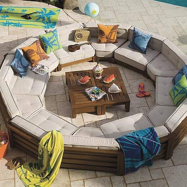 outdoor design choosing elegant patio furniture - Garden Furniture Colour Ideas