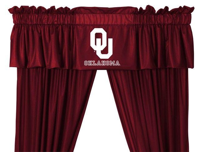 NCAA Alabama Crimson Tide 5pc Jersey Drapes Curtains and Valance Set
