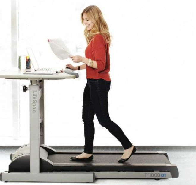 Chatelaine MagazineL Treadmill Desk: What Its Really Like Working At One |  Www.workwhilewalking