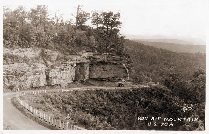 Bon Air Mountain. white County Tn Sparta tennessee