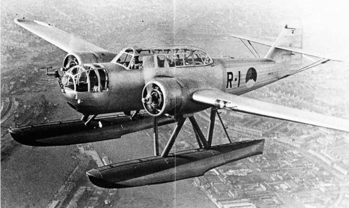 Float bomber torpedo Fokker T-VIII W. Netherlands Part 1