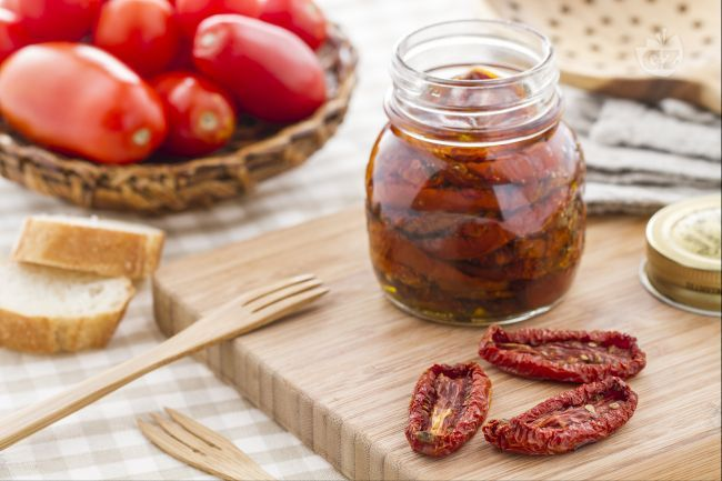 Pomodori secchi sott'olio